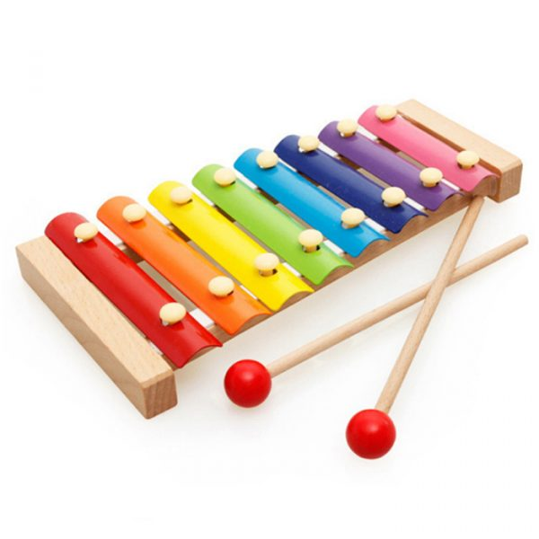 15 Notes xylophone 600x600 - Beech 15 Tone (hand knocks xylophone)