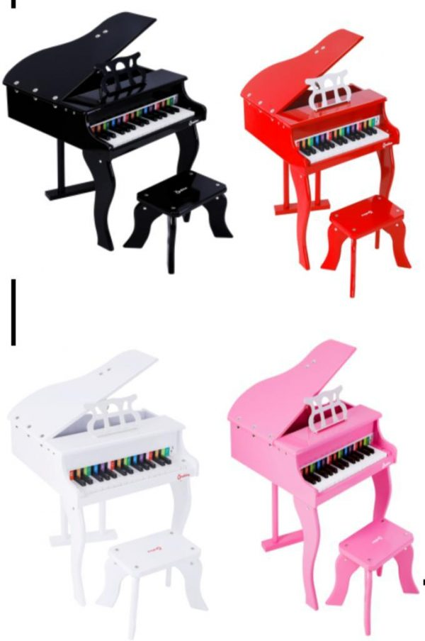 493f8ecd 9a40 4141 a3cb 03732c3c8aed 600x904 - Wooden Piano with seat