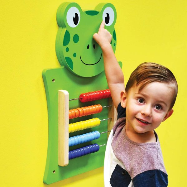 61xlhRMeh5L. SL1200  600x600 - Frog Activity Wall Panel - 18M+ - In Home Learning Activity Center - Wall-Mounted Toy for Kids - Decor for Bedrooms and Play Areas