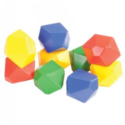 63705 - Gem Blocks Jumbo Manipulative (54 pcs)