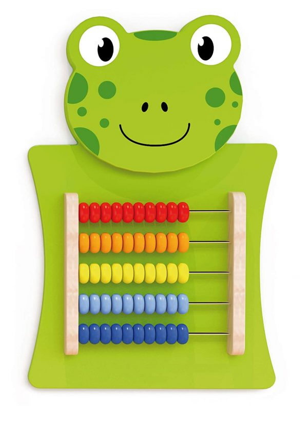 71AbwNRoiYL. SL1500  600x823 - Frog Activity Wall Panel - 18M+ - In Home Learning Activity Center - Wall-Mounted Toy for Kids - Decor for Bedrooms and Play Areas