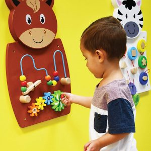 81Vn4mHiNOL. SL1500  300x300 - Horse Activity Wall Panel - 18M+ - in Home Learning Activity Center - Wall-Mounted Toy for Kids - Decor for Bedrooms and Play Areas