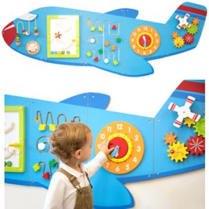 CD76083 350 300x300 - Large Aeroplane Activity Wall