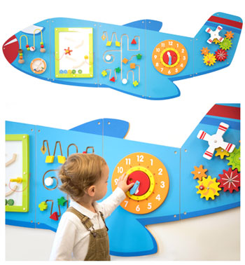 CD76083 350 - Large Aeroplane Activity Wall