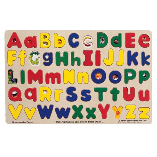 Capital alphabets puzzles 600x600 - Capital Alphabets Puzzles