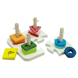 Creative Peg Puzzle 300x300 - Building Block Clock