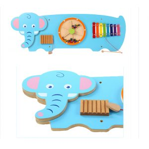 Elephant Wall Toy 300x300 - Stunning Wooden Hippo Activity Wall