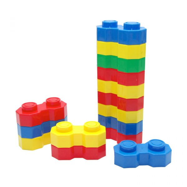Hexagonal Blocks 600x600 - Hexagonal Big Blocks (Set of 16)