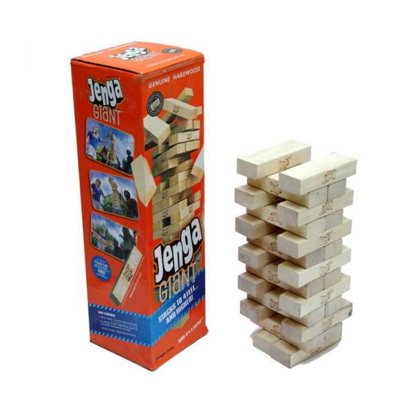 Jenga Giant Stacks 600x600 - Giant Jenga Stacking tower