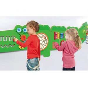 Large crocodile activity wall toy 2 300x300 - Large Crocodile Activity Wall Toy
