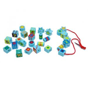 Onshine Lacing beads 300x300 - Building Block Clock