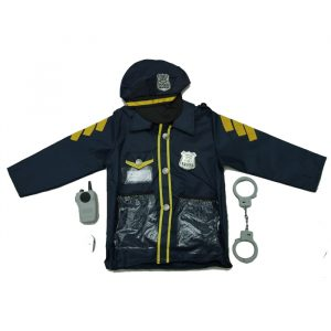 Policeman costume 300x300 - Sand Box with 2kg sand and motives