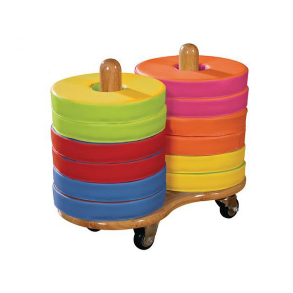 Role Play title page 600x600 - Donut Cushions trolley (set of 20 cushions)