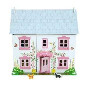 Rose Bud Doll House 300x300 - Wooden Post Box