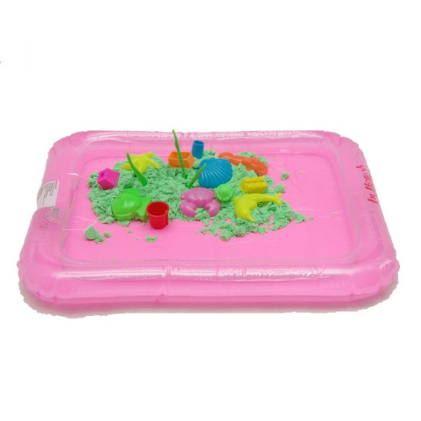 Sand Bucket 600x600 - Sand Box with 2kg sand and motives