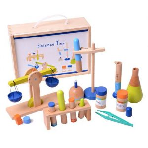 Science Time kit 1 300x300 - Doctor Coat with Accessories
