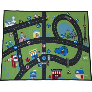 Traffic Signs Carpet 300x300 - World Map Carpet
