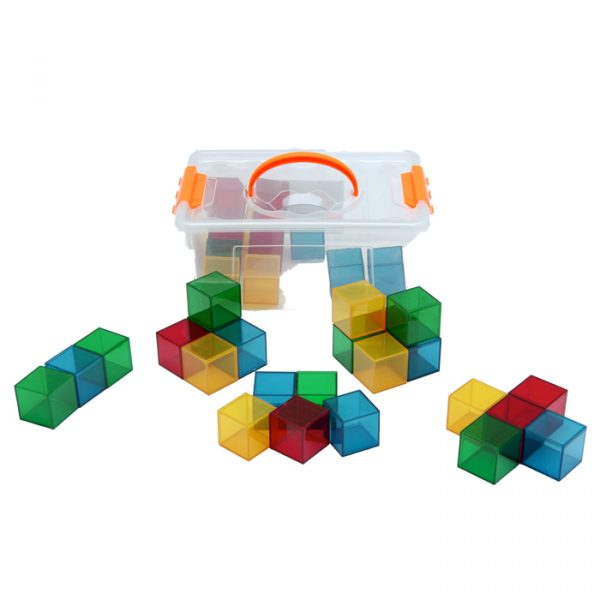 Transparent colored cubes 600x600 - Transparent Colored Cubes