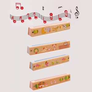 Wooden Harmonica 24 Hole Children Musical Instruments Gift Educational Toys 1 300x300 - Honey bee Harmonica 24 holes