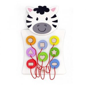 Zebra 300x300 - Shape Maize Wall Toy