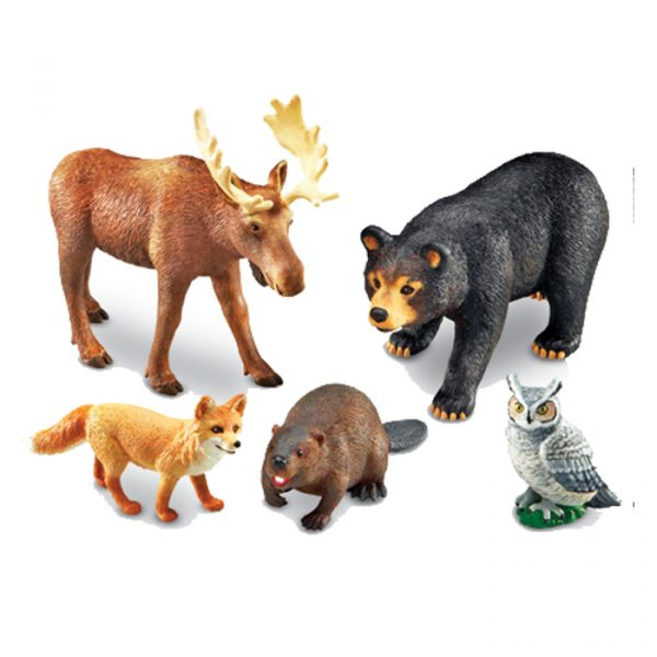 jumbo forest animals 600x600 - Jumbo Forest Animals