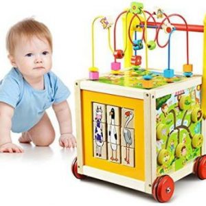 o toys 7 in 1 wooden toys kids learning educational toy bead original imaf3cjegh5fkyxt 300x300 - Bead Maze Cube Walker