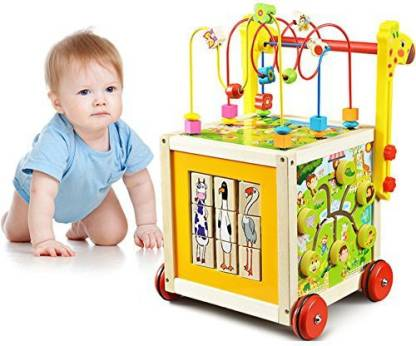 o toys 7 in 1 wooden toys kids learning educational toy bead original imaf3cjegh5fkyxt - Bead Maze Cube Walker