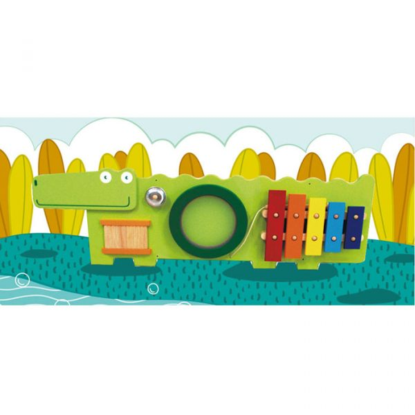 small crocodile 600x600 - Crocodile Activity wall Toy