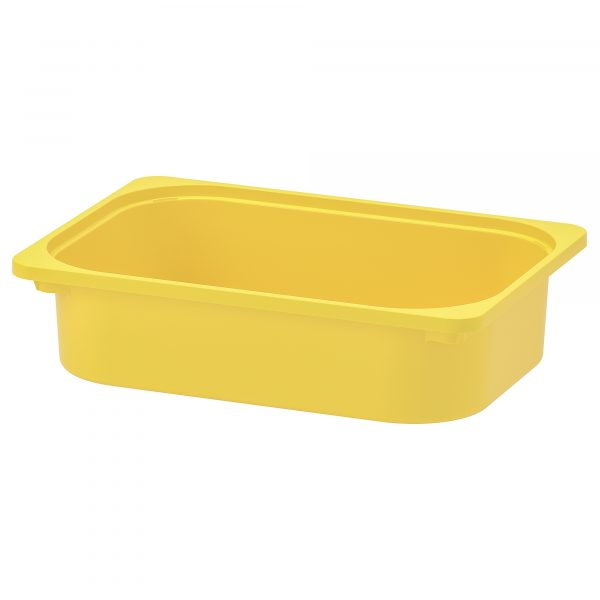 trofast storage box yellow  0624258 pe691761 s5 600x600 - Plastic colorful storage tub 4pcs