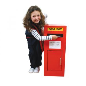 wooden post box 1 300x300 - Rose Bud Doll house( Furnished)