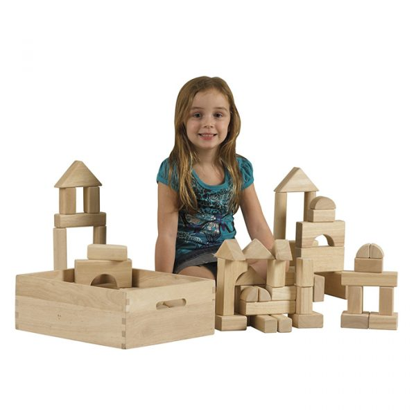 Building Shape Blocks 1 600x600 - Building Shape Blocks (64 Pieces)