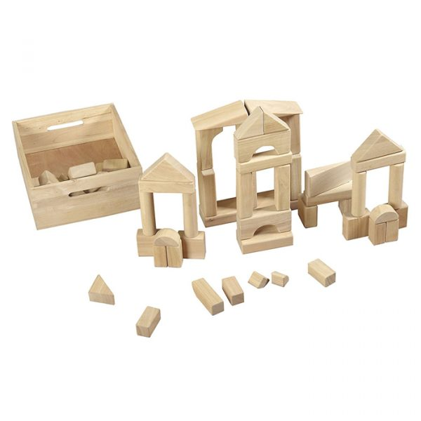 Building Shape Blocks 3 600x600 - Building Shape Blocks (64 Pieces)