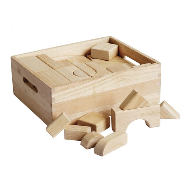 Building Shape Blocks 5 600x600 - Building Shape Blocks (64 Pieces)