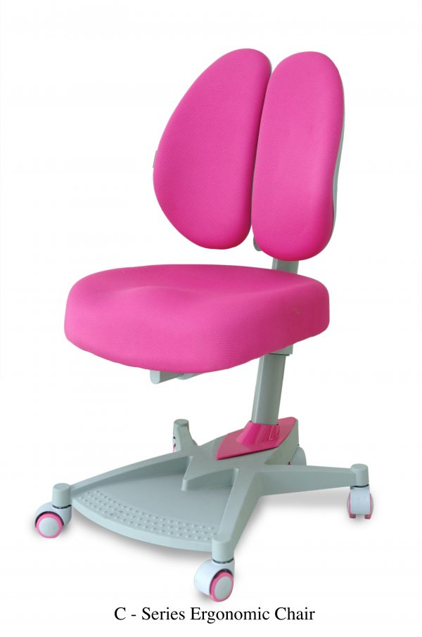 C SERIES ERGONOMIC CHAIRS 600x906 - E-SERIES ERGONOMIC DESK PINK.