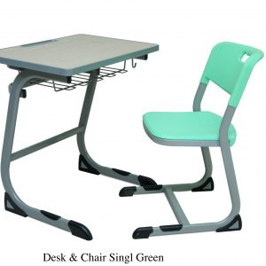 DESKCHAIR SINGLE 300x300 - Desk & Chair single(Green)