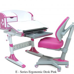 E SERIES ERGONOMIC DESK PINK. 300x300 - E  Series Ergonomic Desk & Chair Pink