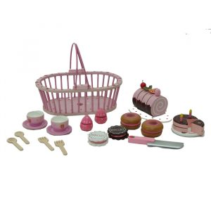 French bakery in pink basket 300x300 - French Bake