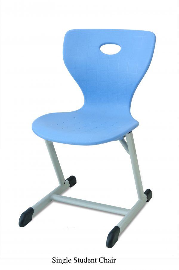 SINGLE STUDENT CHAIR 600x906 - SINGLE STUDENT DESK & CHAIR BLUE