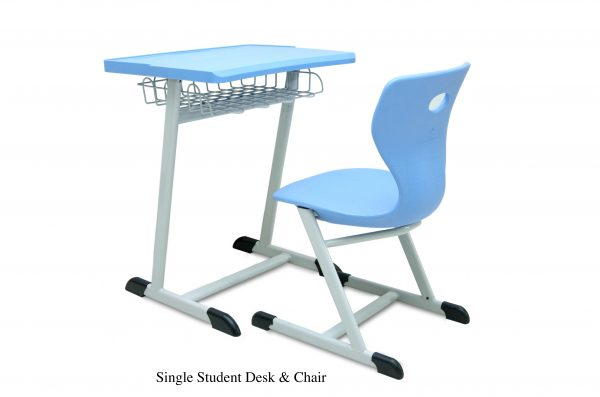 SINGLE STUDENT DESK CHAIR 600x397 - SINGLE STUDENT DESK & CHAIR BLUE