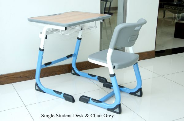 SINGLE STUDENT DESKCHAIR 600x397 - SINGLE STUDENT DESK&CHAIR