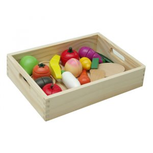 fruit vegetble in crate 300x300 - Fruit Cutout in Blue Tray
