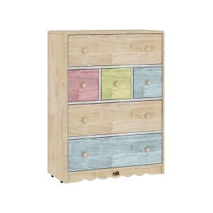 Drawer storage cabinet RS.14500 300x300 - Haya Square Table