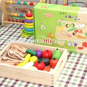 Japanese Wooden Magnetic Vegetables and Fruits Toys 300x300 - Japan food set solid
