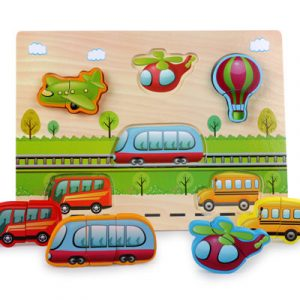 New Arrival Baby Toys 3D Puzzle Wooden Toys Carton Animal Fruit Vehicle Matching Board Children Educational.jpg 640x640 2 300x300 - Wooden Puzzles (set of 5)