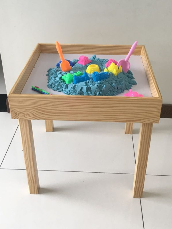 WhatsApp Image 2018 07 11 at 10.36.11 PM 600x800 - Space Sand table Wooden with 5 kg Space Sand