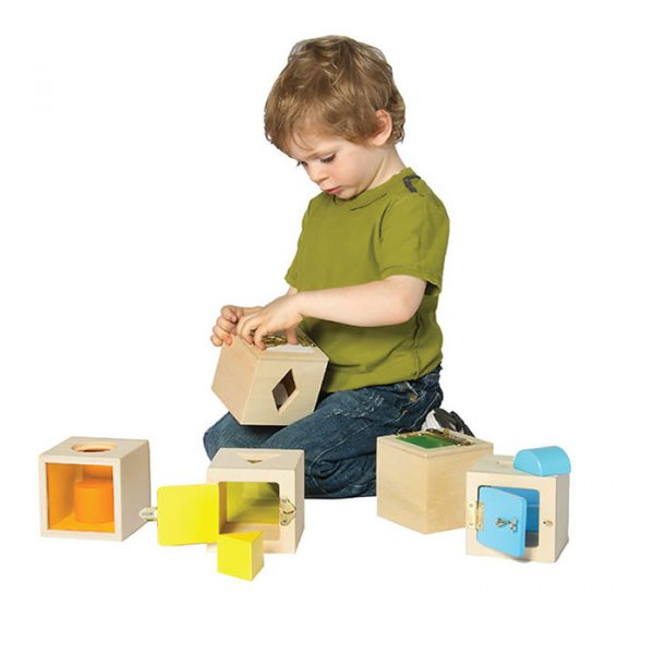 Shape Box Latches - Educational toys for kids
