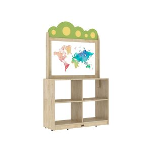 storage shelf with clear drawing board.jpg 14500 300x300 - Haya Storage Shelf With Clear Drawing