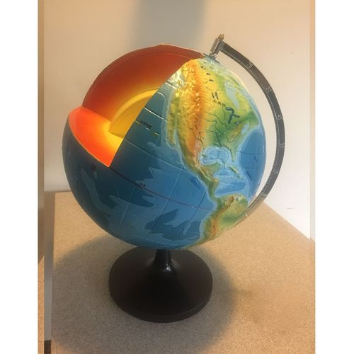 2 1 - Earth Model Globe - Learning Resources Quarter