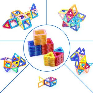 e8c0c0ec61aa8b6e716308292f6c9843 300x300 - Magnetic Blocks, 118 Piece Magnetic Building Blocks Set Magnetic Tiles Educational Toys for Kid