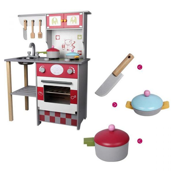 o 600x600 - Kitchen Model Children Simulation Educational Toy
